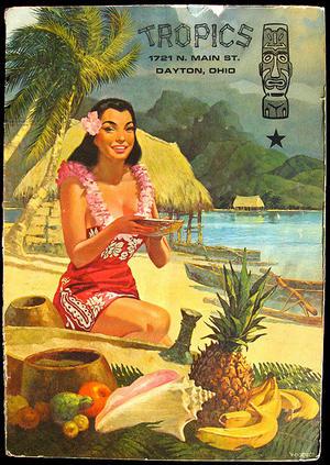 tiki tropics ad