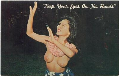 Keep your eyes on the hands